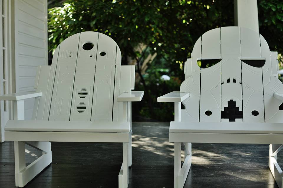 Star Wars lounge chairs