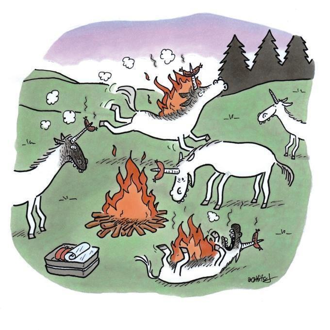 Unicorn BBQ party