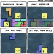 A comic about friendship and tetris