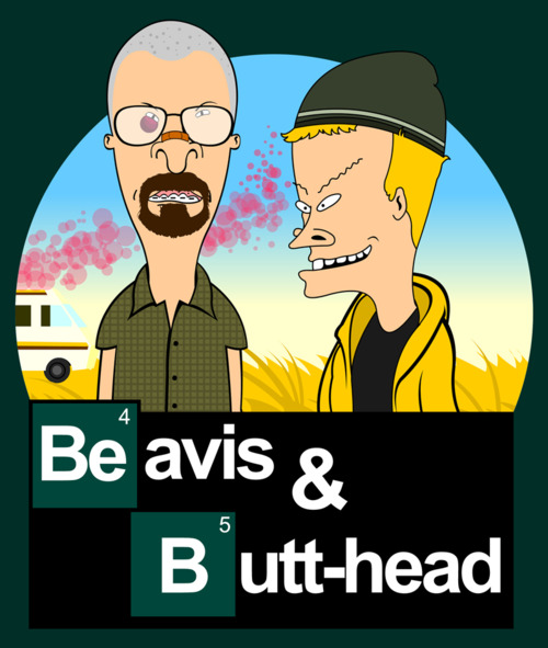 Beavis and butt-head in Breaking Bad