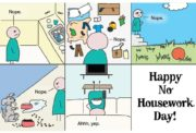 Happy no housework day!