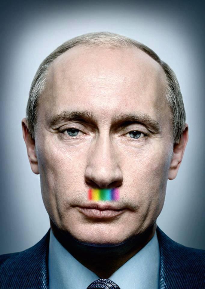 Rainbow Putin