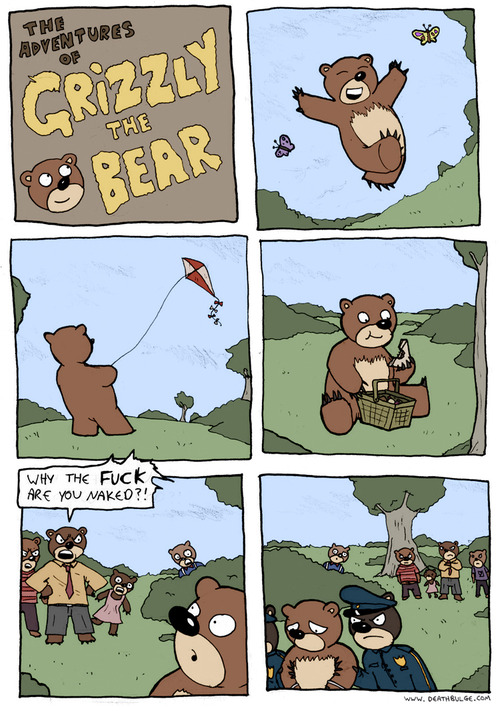 The Adventures of Grizzly the Bear