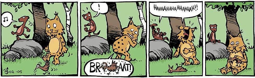 Deadly lynx fart
