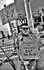 Balance the universe. Eat the rich.