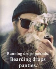 Bearding drops panties