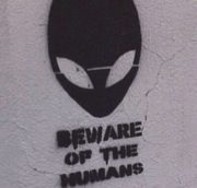 Beware of the humans