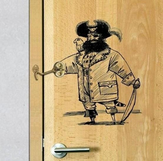 Captain Hook Door Latch