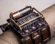 ChronodeVFD: Wearable Electronics Steampunk VFD Wristwatch