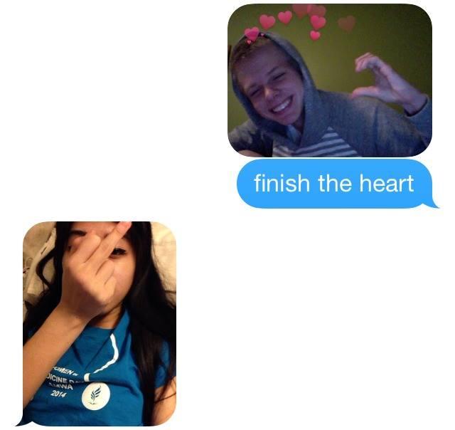 Finish the heart