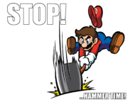 Stop!…Hammer time!