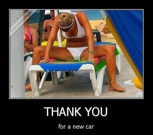 Thank you for a new car