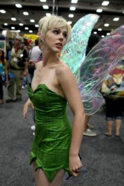 Tinkerbell from Peter Pan cosplay