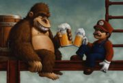 Beer time in Super Mario Land