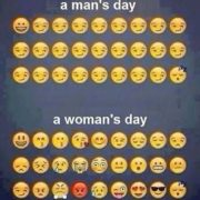 Man's day & woman's day