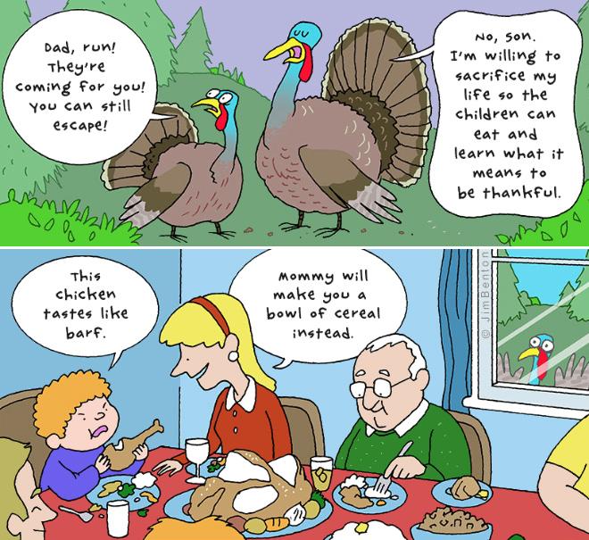 Sad truth about thanksgiving turkeys