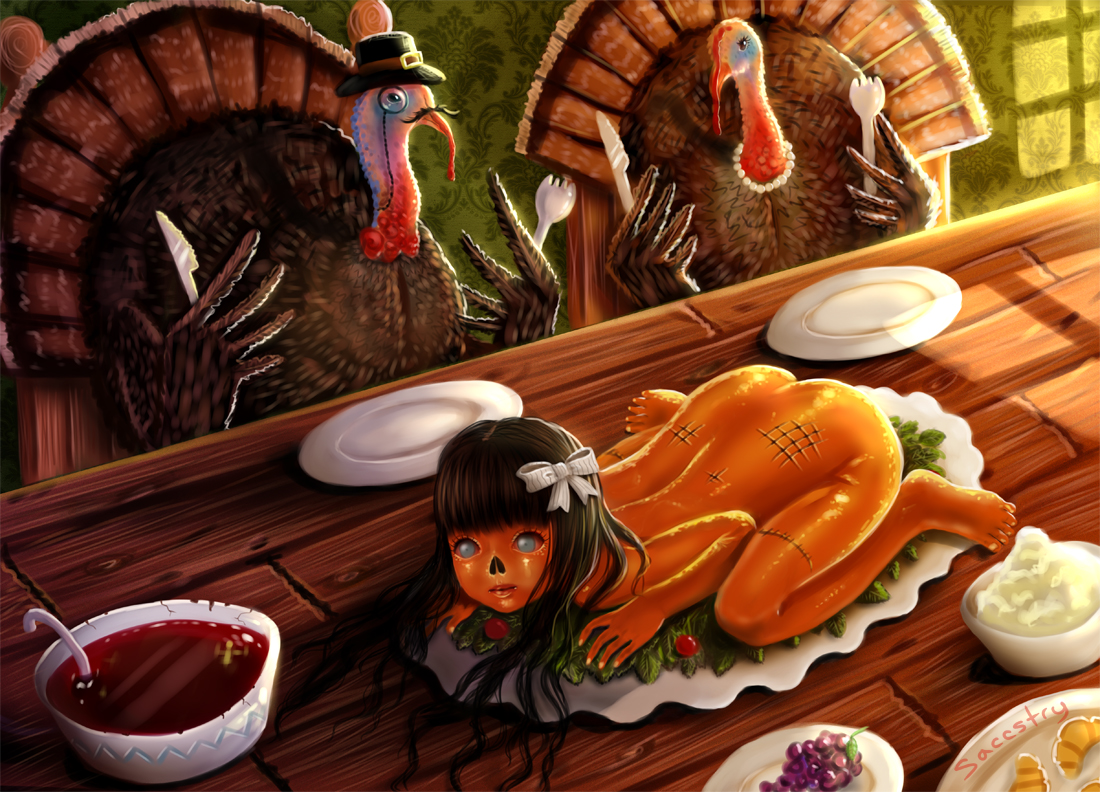 Thanksgiving human