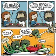 Why did you become a vegetarian?