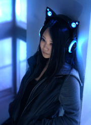 Cat ears headphones by Axent Wear