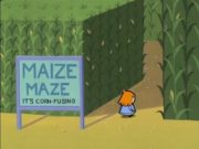 Maize maze – It's corn-fusing!