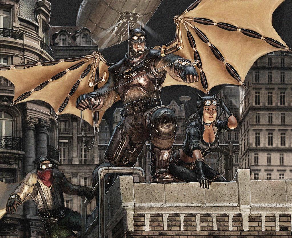 Batman: Steampunk edition