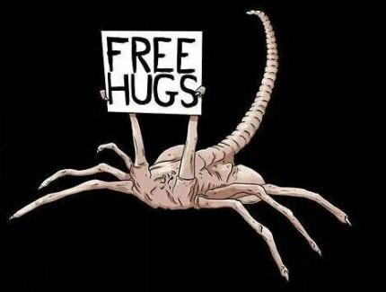Free facehugger hugs