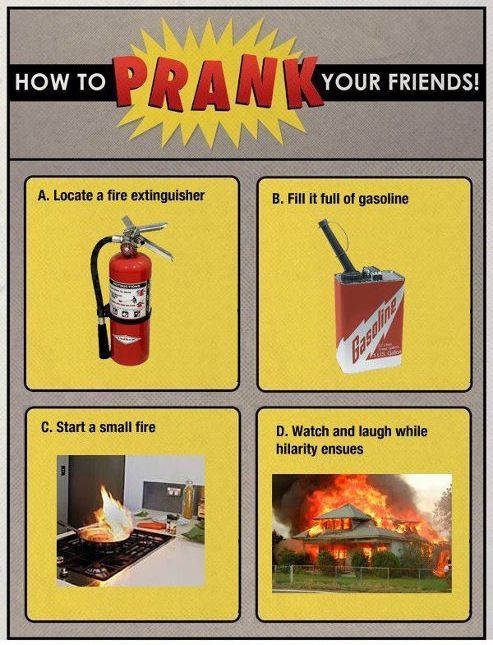 How to prank your friends