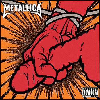 Metallica – St.Anger cover art