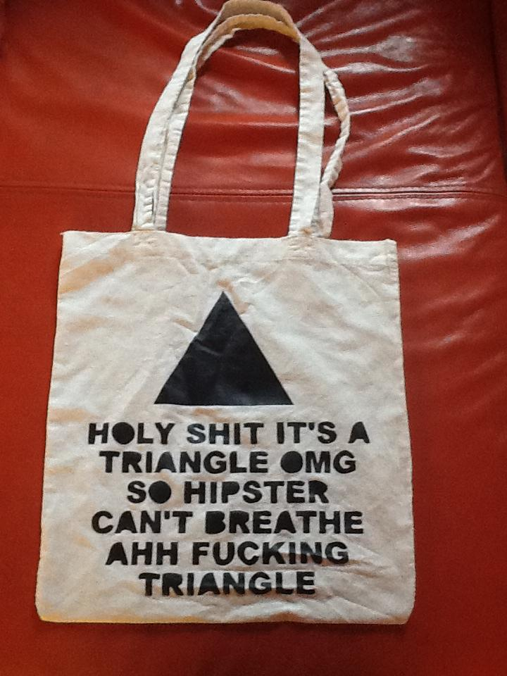 So Hipster triangle