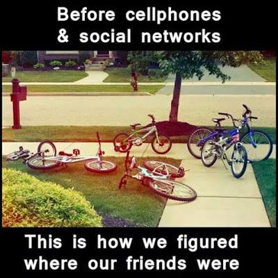 Before cellphones and social networks
