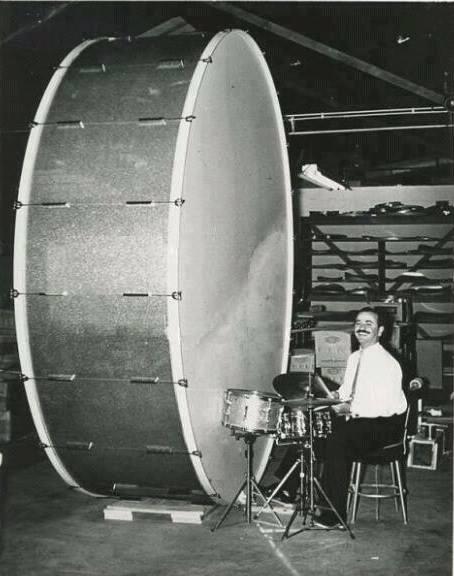 Biggest bass drum