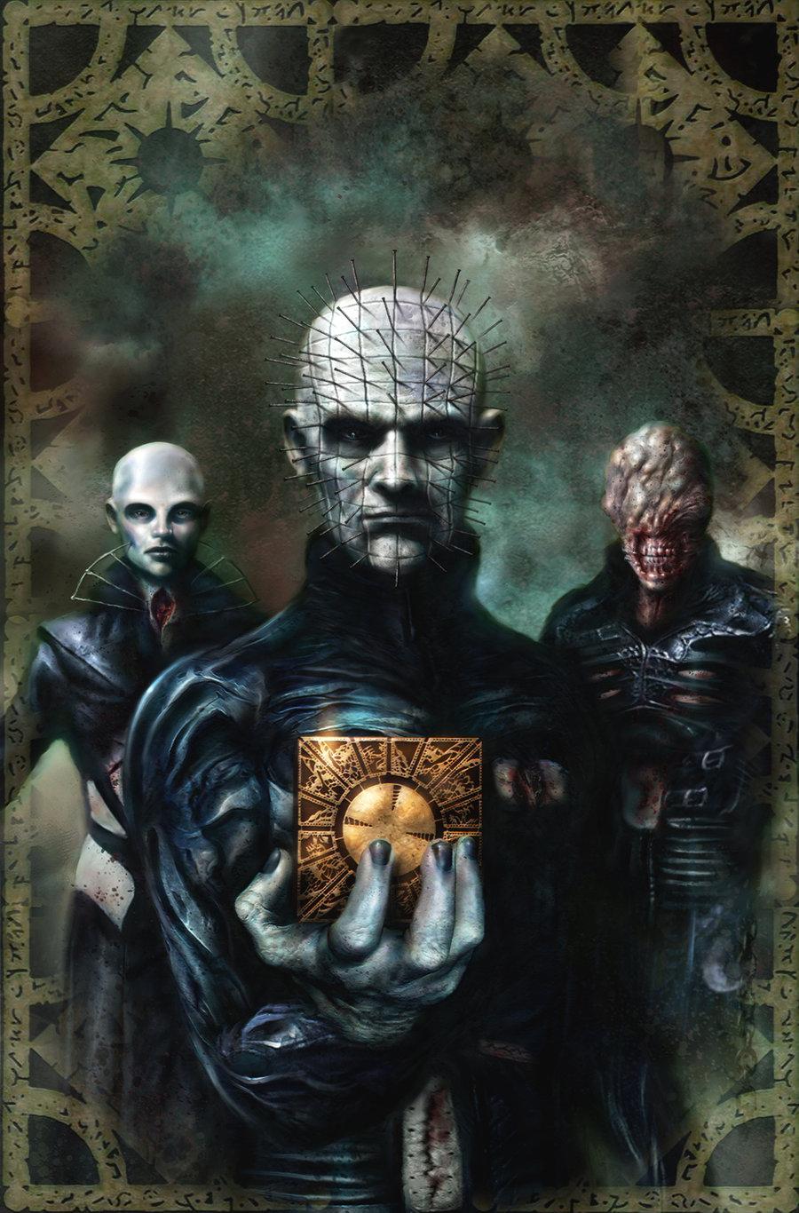 Hellraiser cover artwork