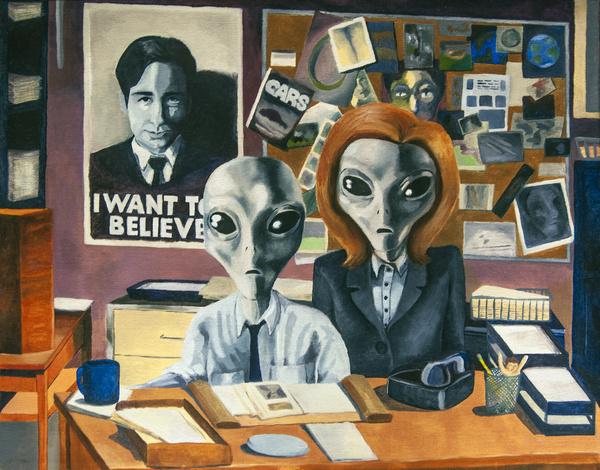 Alien x-files
