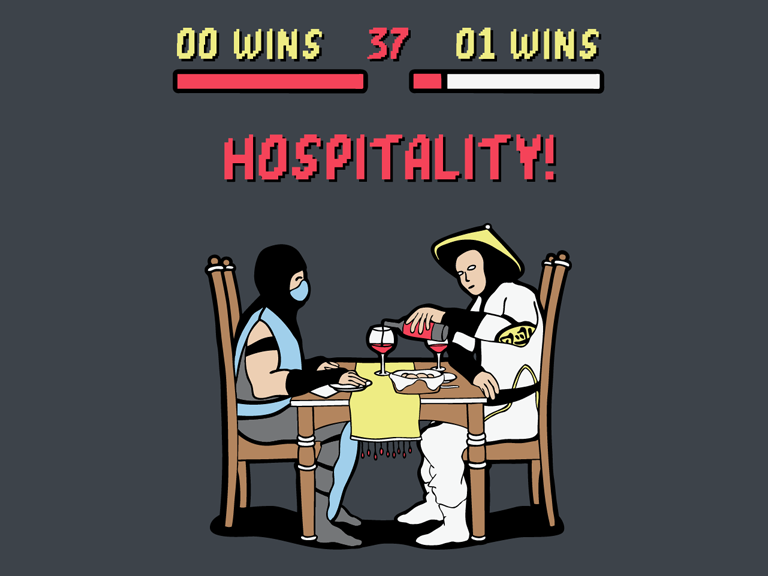 "Mortal Kombat ""Hospitality"""
