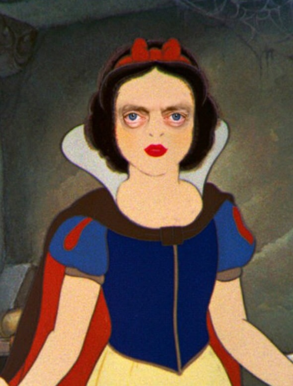 Snow White with Steve Buscemi's eyes
