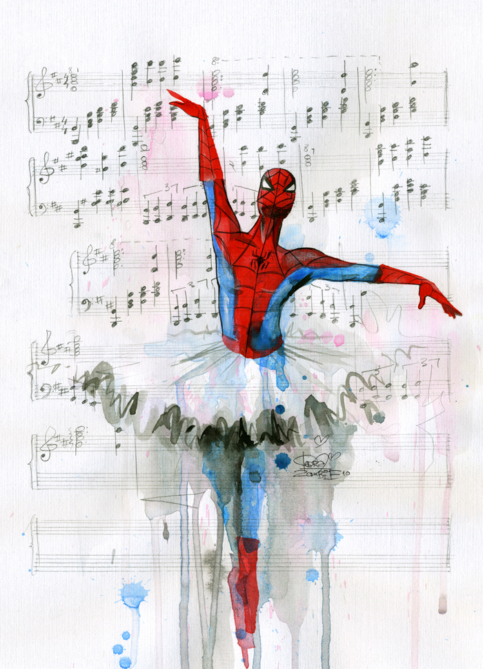 Spiderman's ballet