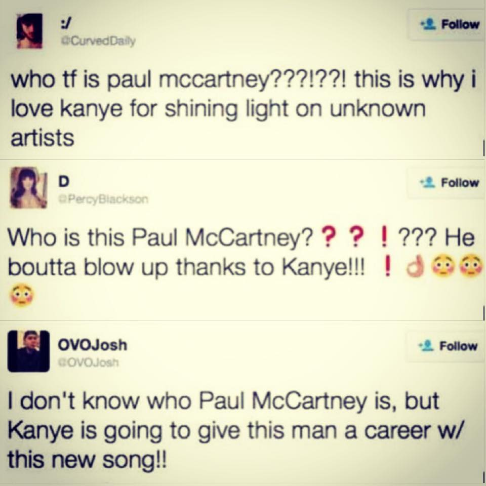 Who is this Paul McCartney?