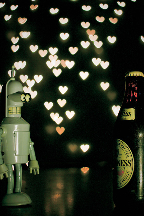 Bender's in love.