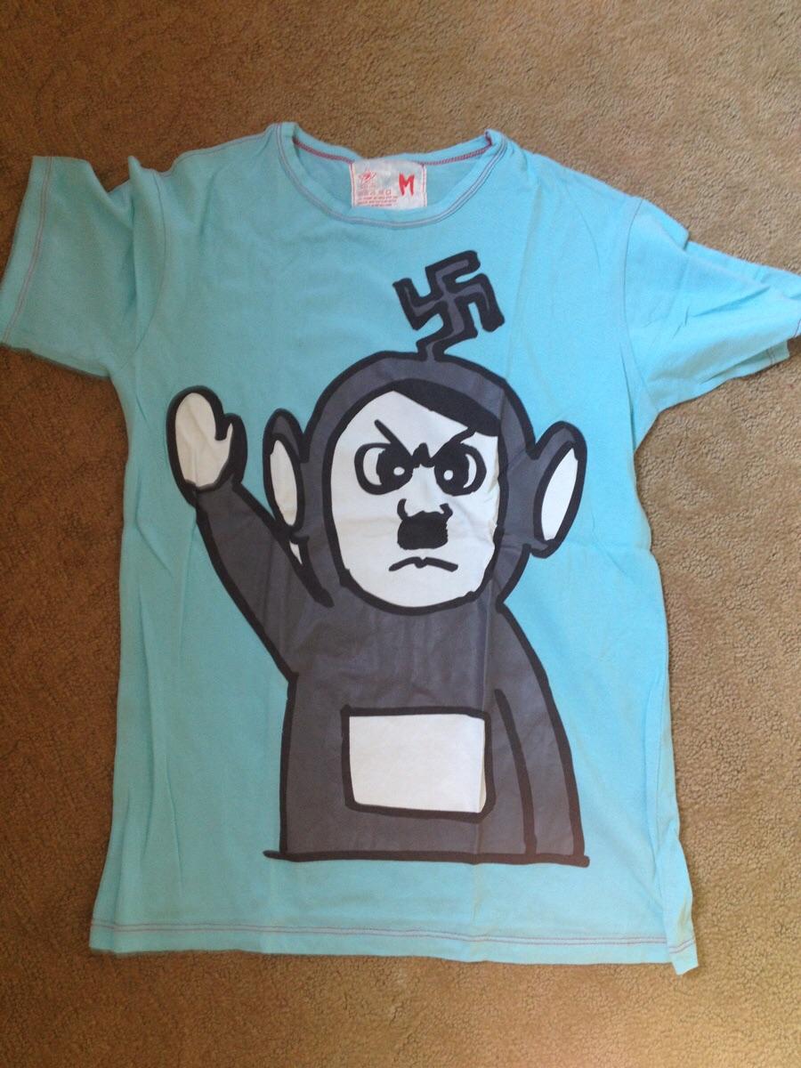 Hail teletubbitler t-shirt