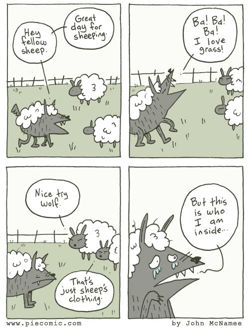Nice try wolf.