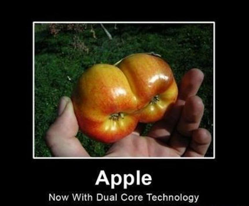 Apple – now with dual core technology