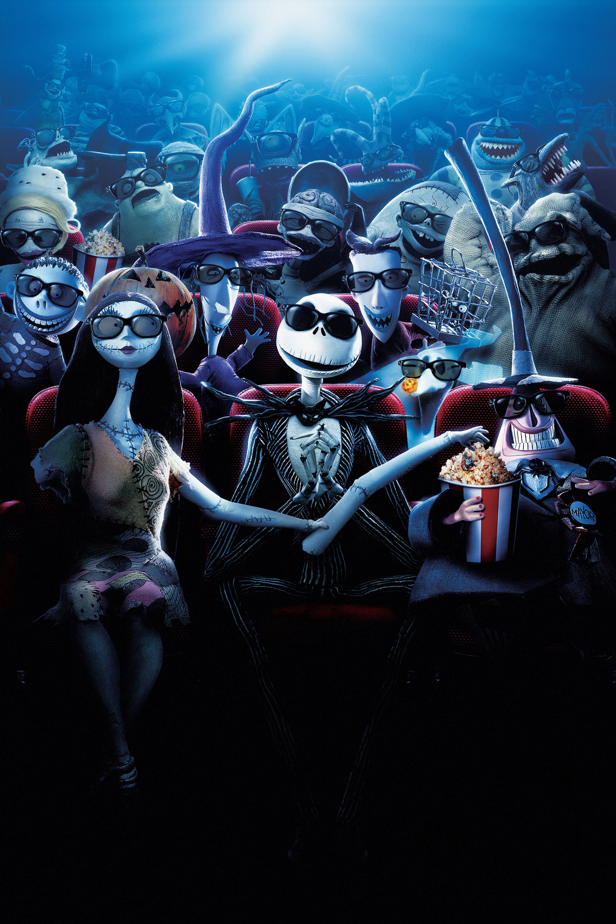 Cast of The Nightmare Before Christmas in cinema