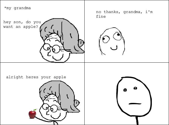 Do you want an apple?