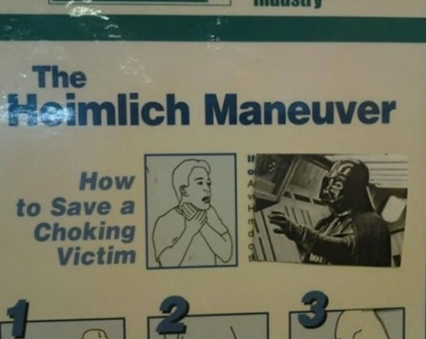 How to save a choking victim