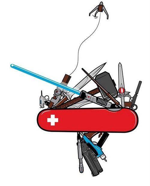 Swiss geek knife
