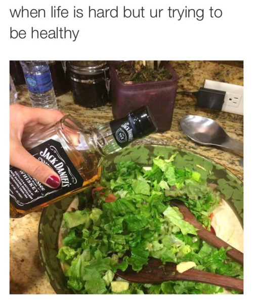 When life is hard ur trying to be healthy