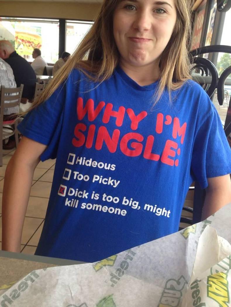 Why I'm single