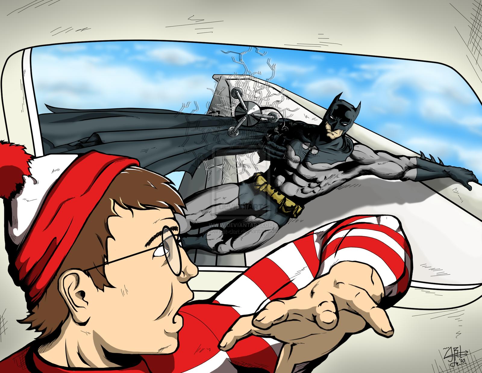 Batman found Waldo