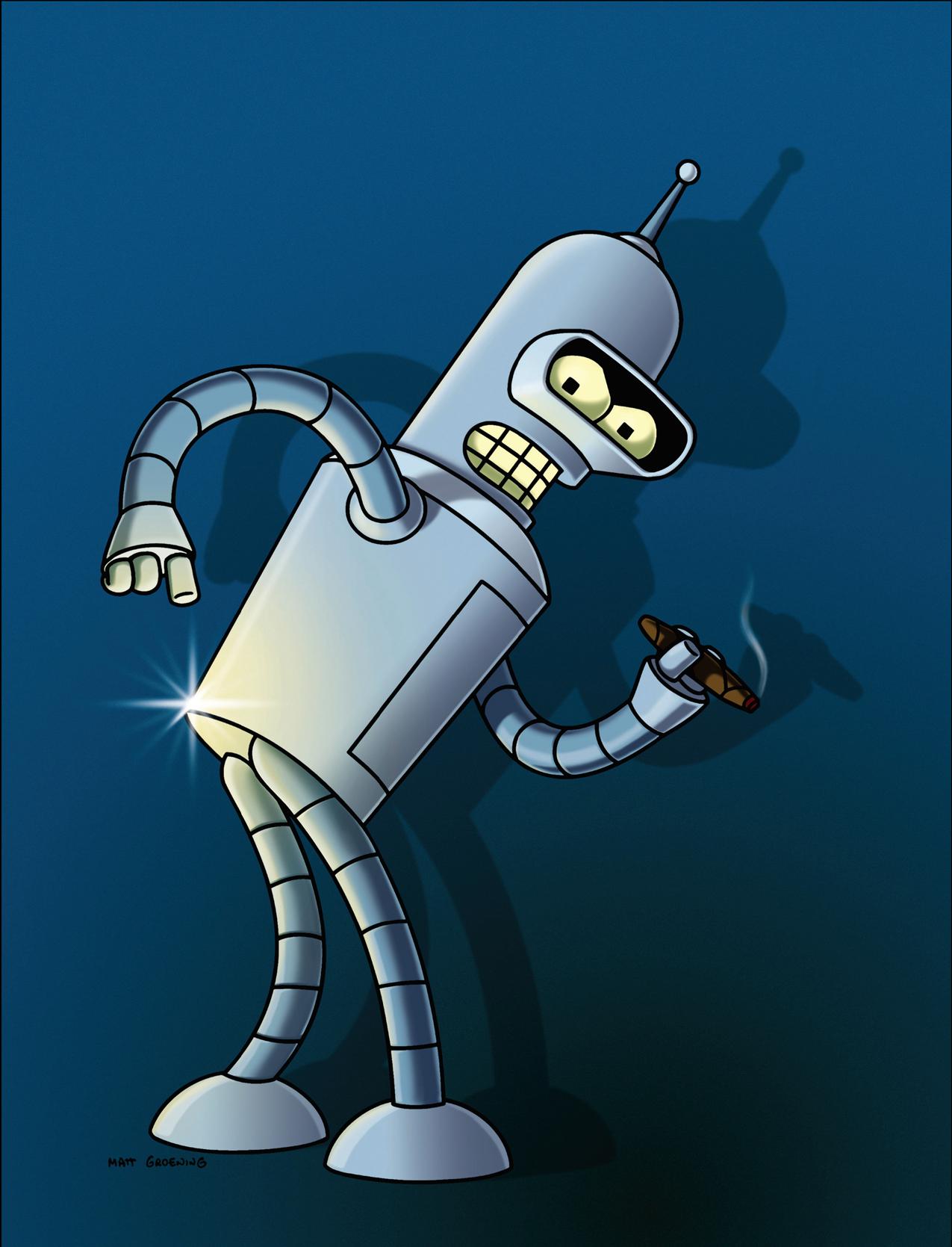 Bender's shiny metal ass