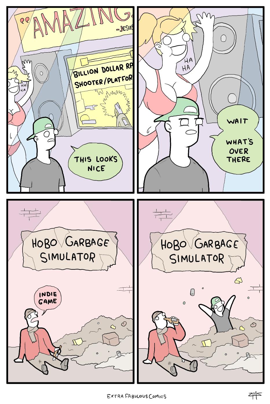 Hobo garbage simulator